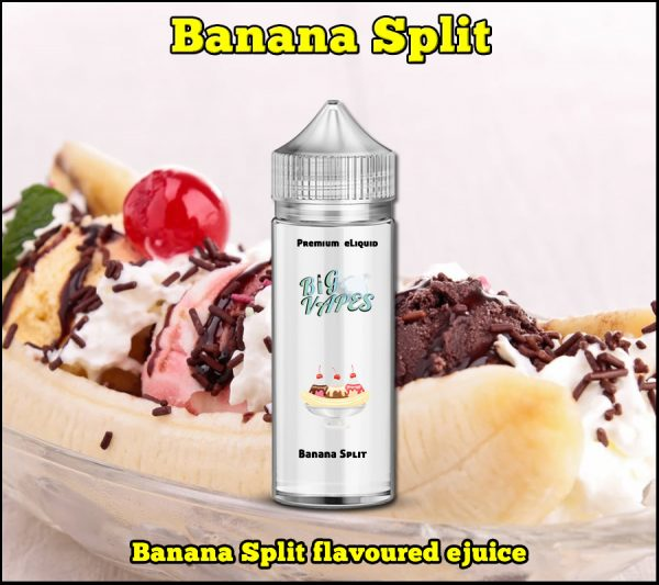 Banana Split eliquid ejuice Vape Oil