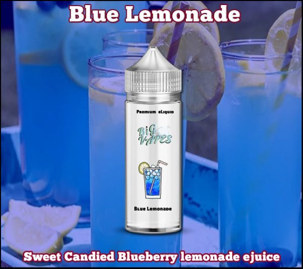 Electric Blue Lemonade Blueberry ejuice