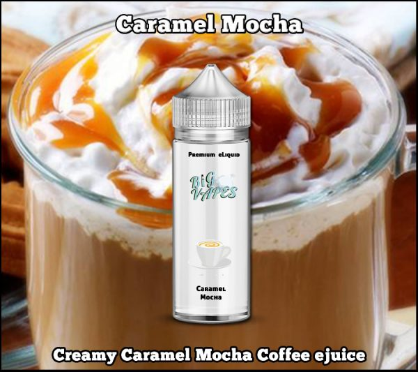 Caramel Mocha Coffee eliquid