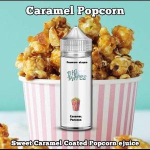 Caramel Popcorn ejuice eliquid Vape Oil Refill POD