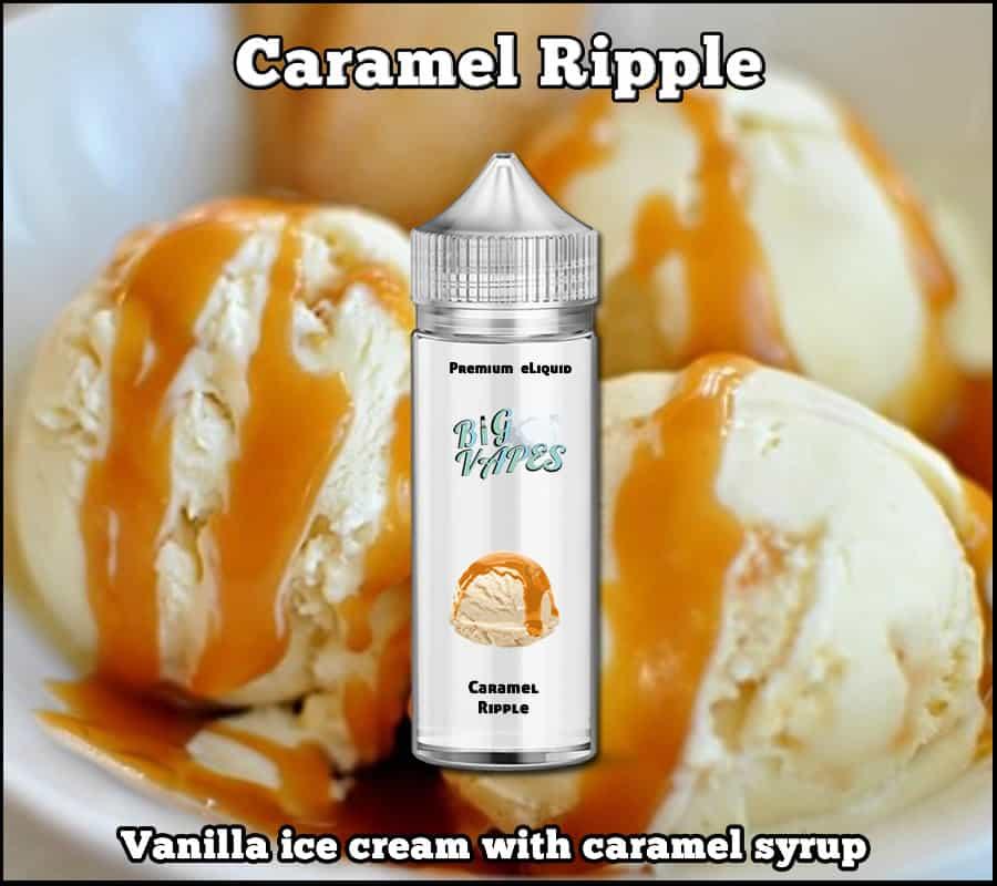 Caramel Ripple Ice Cream eliquid