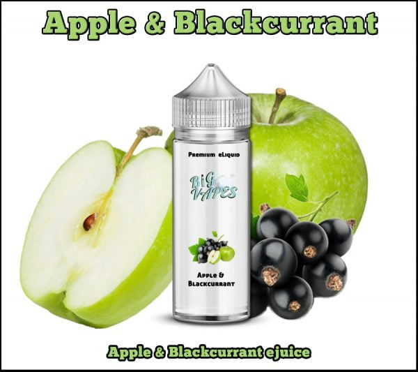 Apple & Blackcurrant e-Liquid