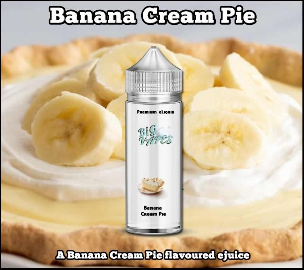 Banana Cream Pie eliquid