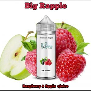 Raspberry & Apple ejuice Rapple