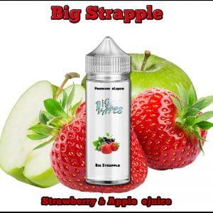 Strawberry & Apple eliquid Strapple