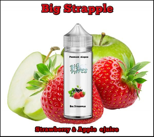 Strawberry & Apple eliquid Strapple