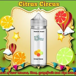 Citrus Circus eLiquid Lemon, Orange, Grapefruit, Lime