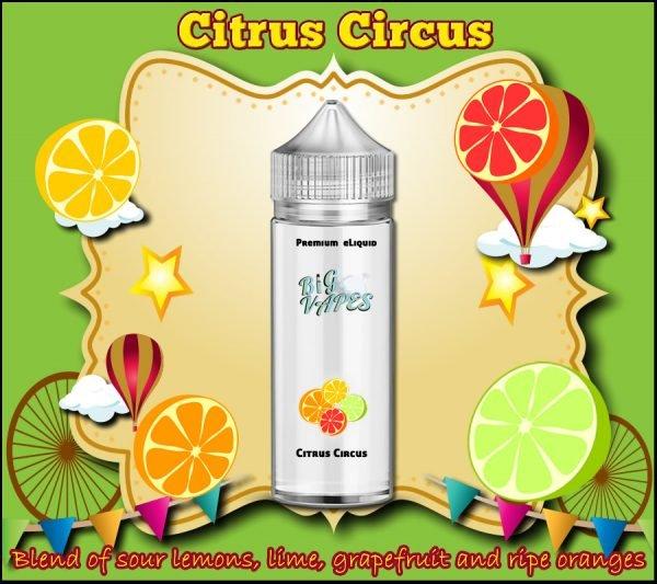 Citrus Circus eLiquid Lemon, Orange, Grapefruit, Lime