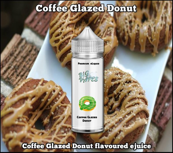 Coffee Glazed Donut ejuice vape liquid refill