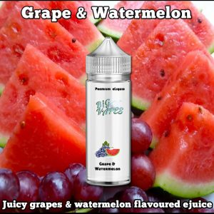 Grape & Watermelon ejuice, eliquid vape oil refill