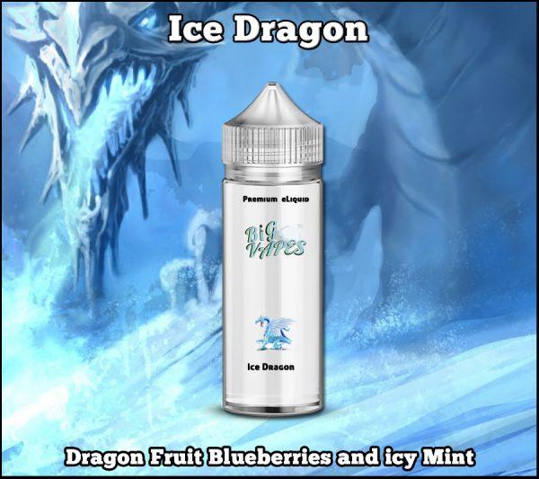Dragon Fruit Blueberry & Mint eliquid