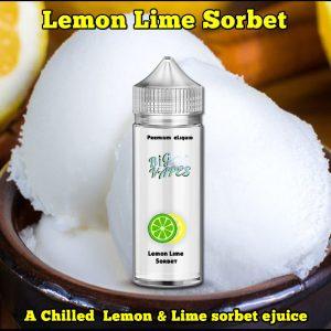 Big Vapes Lemon Lime Sorbet e-Liquidis a super refreshing ejuice made up from juicy lemon & key limes