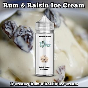 Rum & Raisin Ice Cream e-Liquid