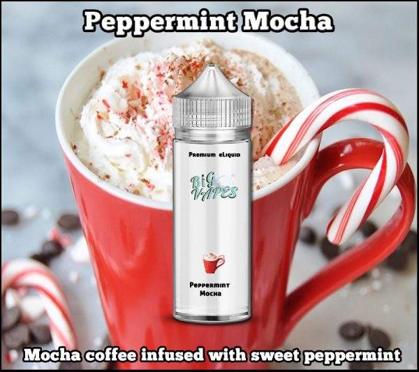 Peppermint Mocha e-Liquid