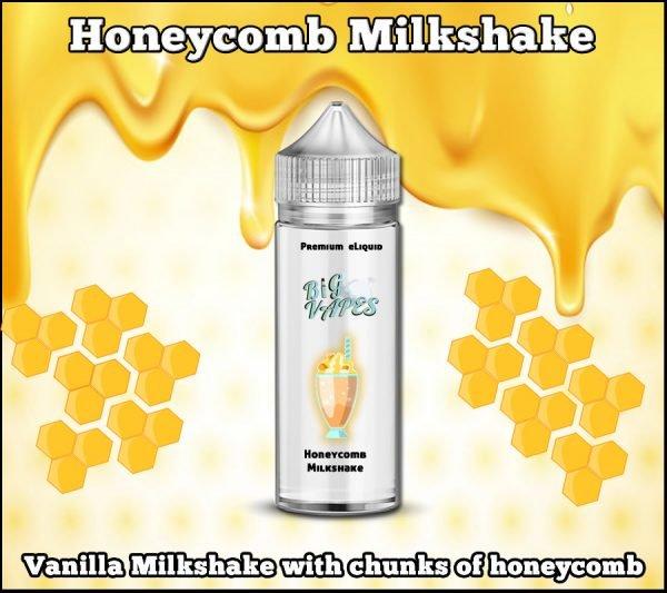 honeycomb milkshake vape ejuice