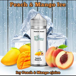 Peach & Mango Ice e-Liquid Vape ejuice