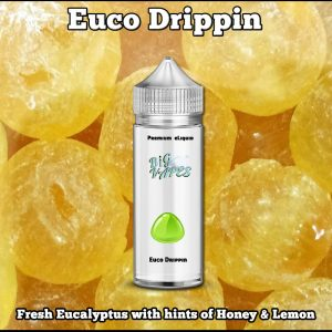 Euco-drippin ejuice Eucalyptus honey Lemon
