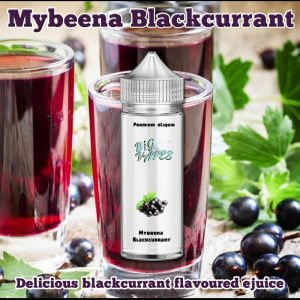 Mybeena Blackcurrant eliquid vape oil refill