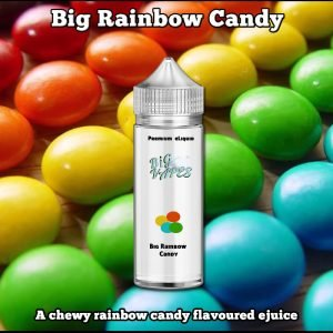 Big Rainbow Candy Skittles eJuice eliquid