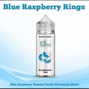 Blue Raspberry Gummy Rings,