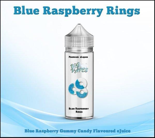 Blue Raspberry Gummy Rings,