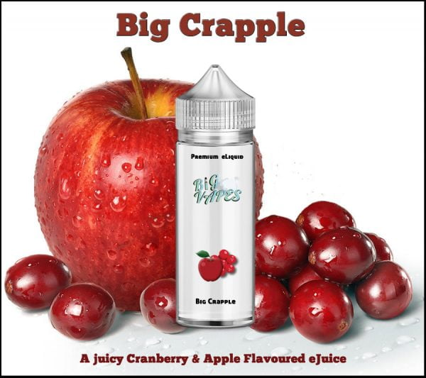Crapple eLiquid Cranberry & Apple