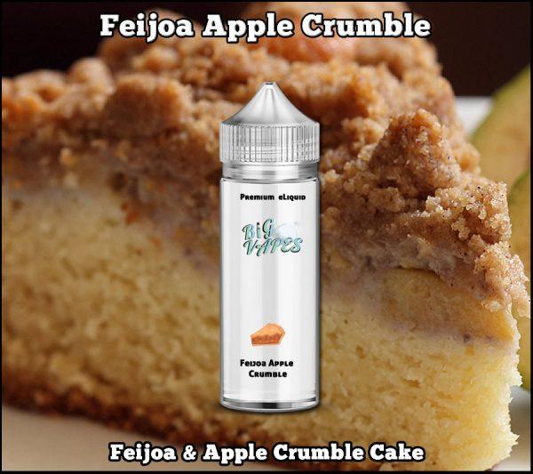 Feijoa Apple Crumble e-Liquid