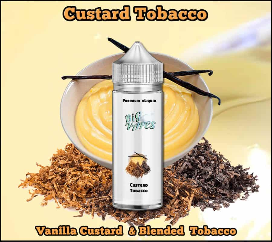 Custard Tobacco e-Liquid