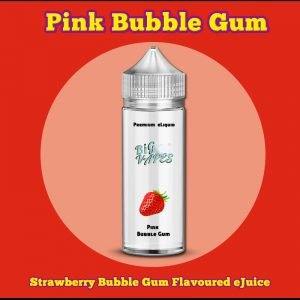 Hubba Bubba Style Strawberry Bubblegum ejuice