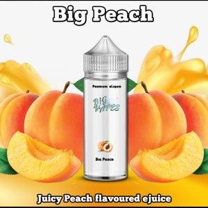 Big Peach Flavoured e-liquid