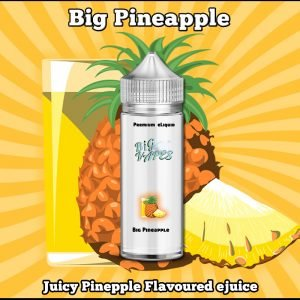 Big Pineaaple Flavor eLiquid eJuice Vape flavours