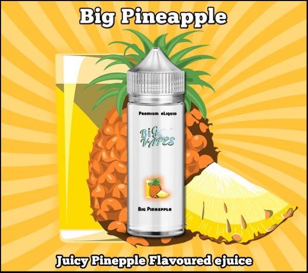Big Pineaaple Flavor eLiquid eJuice Vape flavours