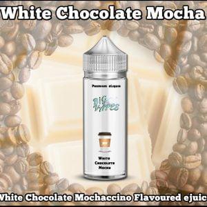 White Chocolate Mocha Barista Style Coffee eliquid