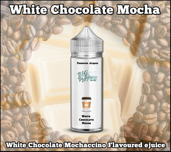 White Chocolate Mocha Barista Style Coffee eliquid