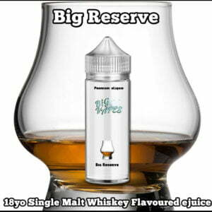 Whiskey eliquid flavors
