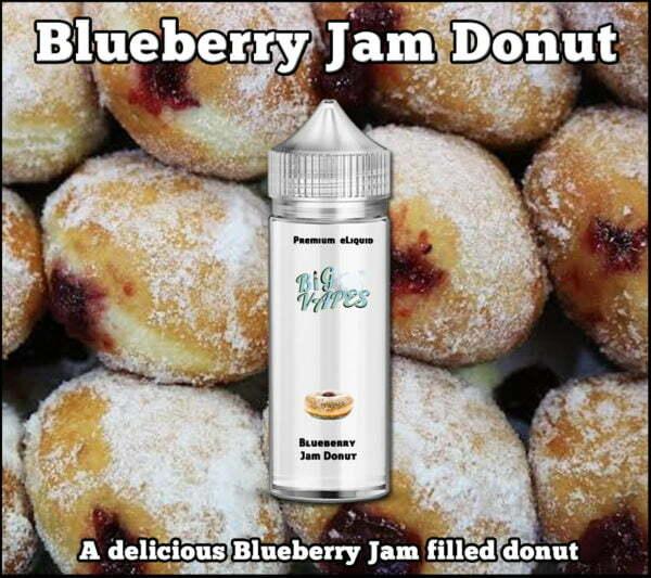 blueberry jam donut eliquid